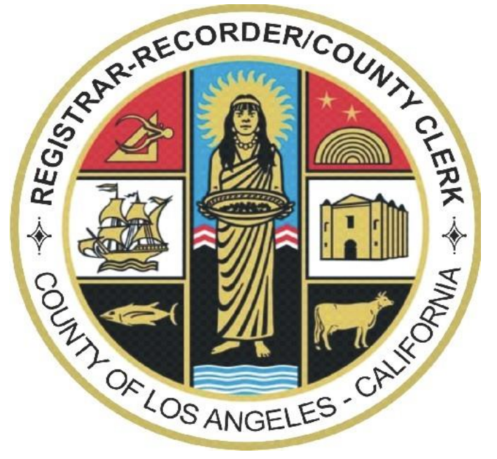 Los Angeles County Register Records County